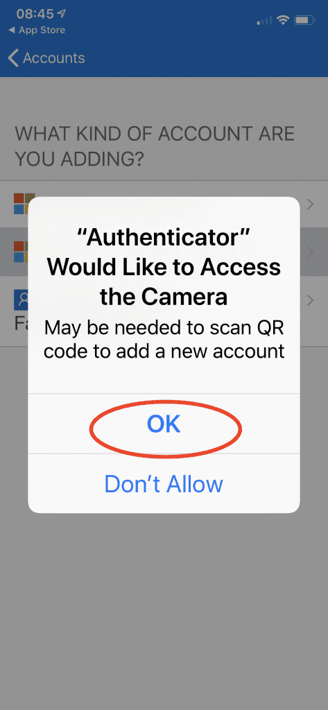 give camera access